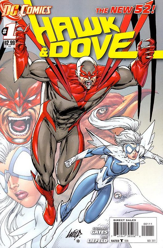 Cover of Hawk & Dove (Vol 3) The #1. One of 250,000 Vintage American Comics on sale from Krypton!