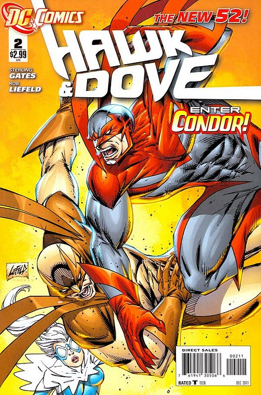 Cover of Hawk & Dove (Vol 3) The #2. One of 250,000 Vintage American Comics on sale from Krypton!