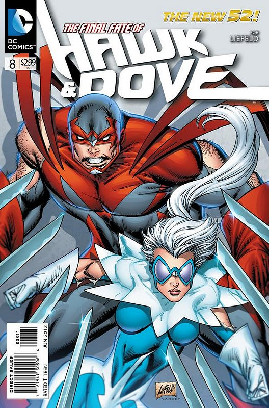 Cover of Hawk & Dove (Vol 3) The #8. One of 250,000 Vintage American Comics on sale from Krypton!