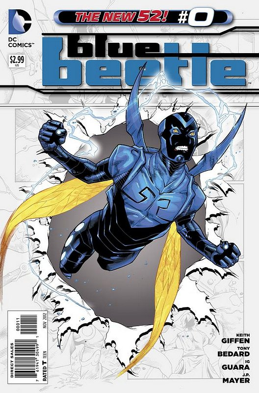 Cover of Blue Beetle (DC Vol 3) #0. One of 250,000 Vintage American Comics on sale from Krypton!