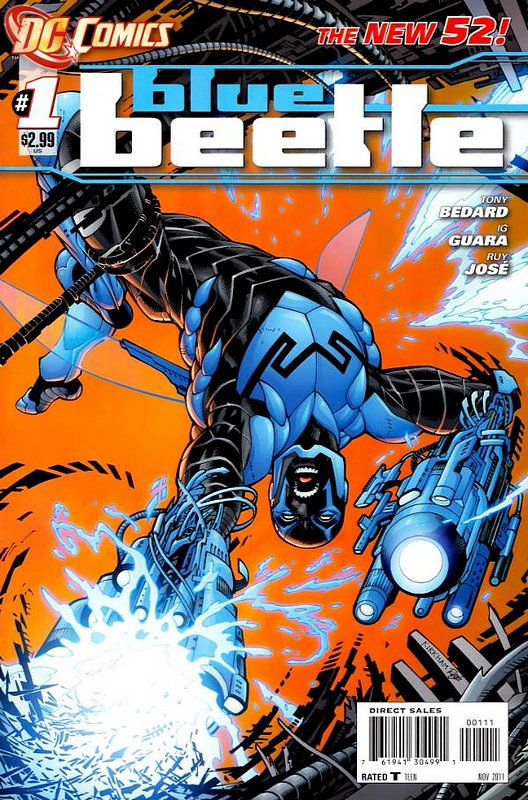 Cover of Blue Beetle (DC Vol 3) #1. One of 250,000 Vintage American Comics on sale from Krypton!