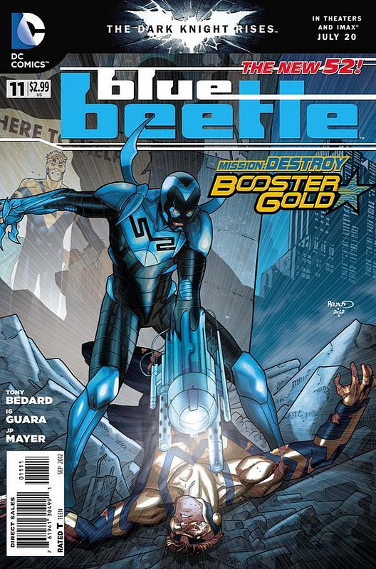 Cover of Blue Beetle (DC Vol 3) #11. One of 250,000 Vintage American Comics on sale from Krypton!