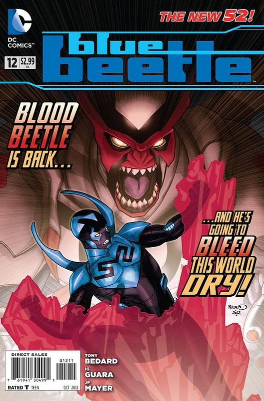 Cover of Blue Beetle (DC Vol 3) #12. One of 250,000 Vintage American Comics on sale from Krypton!