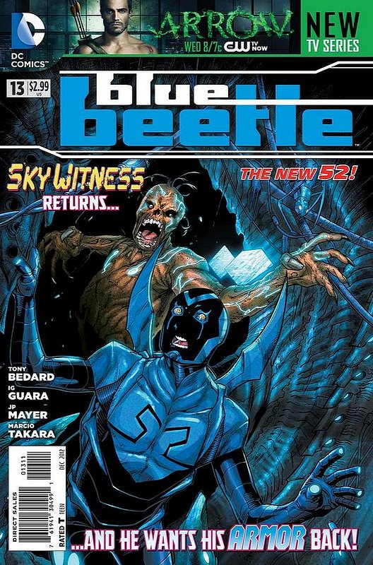Cover of Blue Beetle (DC Vol 3) #13. One of 250,000 Vintage American Comics on sale from Krypton!