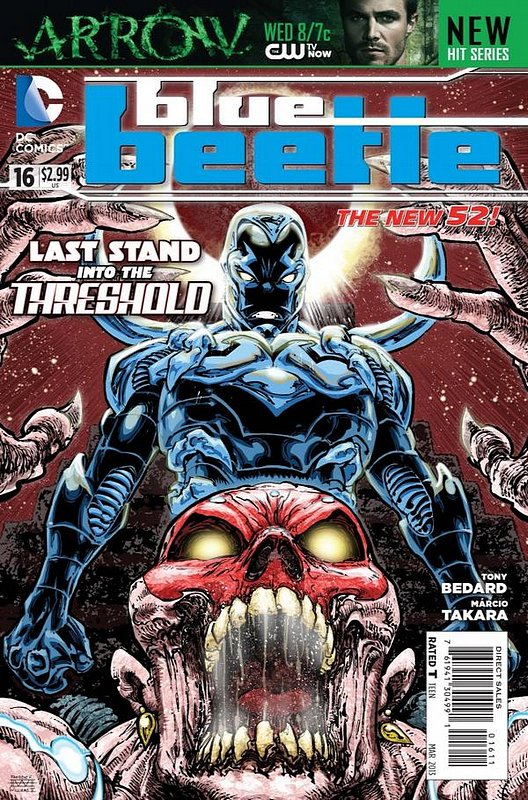 Cover of Blue Beetle (DC Vol 3) #16. One of 250,000 Vintage American Comics on sale from Krypton!