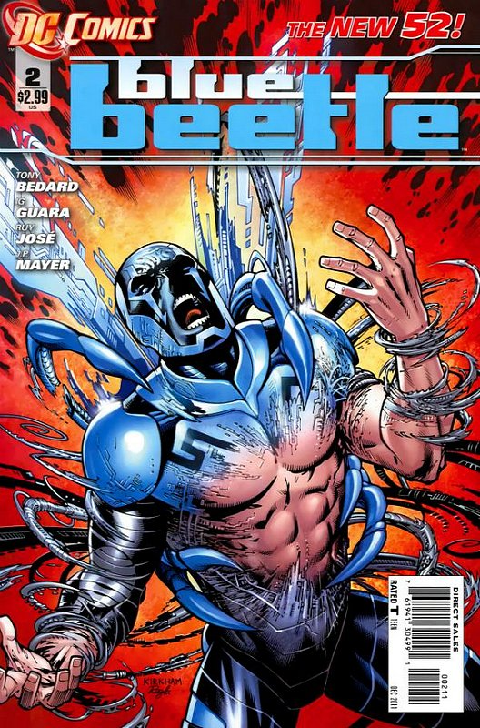 Cover of Blue Beetle (DC Vol 3) #2. One of 250,000 Vintage American Comics on sale from Krypton!