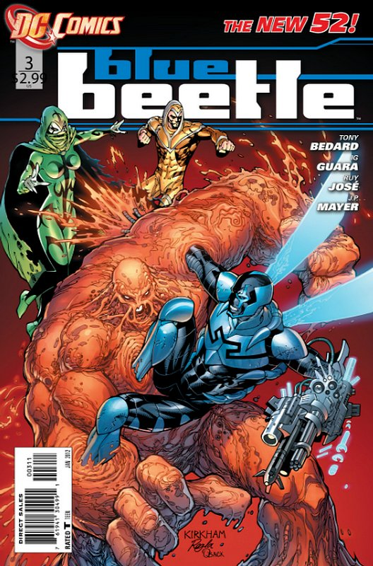 Cover of Blue Beetle (DC Vol 3) #3. One of 250,000 Vintage American Comics on sale from Krypton!