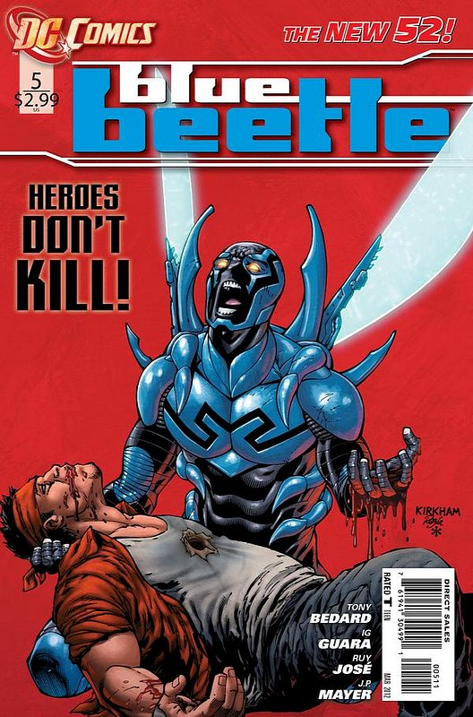 Cover of Blue Beetle (DC Vol 3) #5. One of 250,000 Vintage American Comics on sale from Krypton!