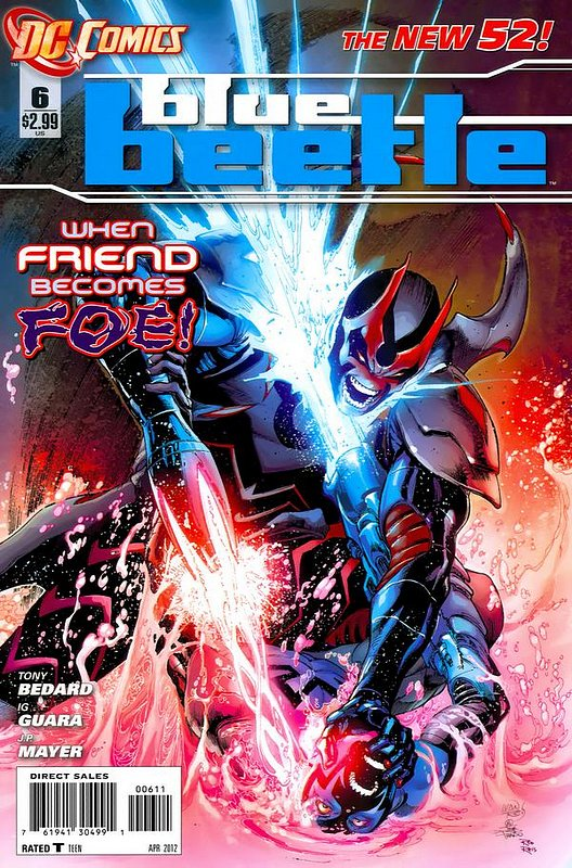 Cover of Blue Beetle (DC Vol 3) #6. One of 250,000 Vintage American Comics on sale from Krypton!