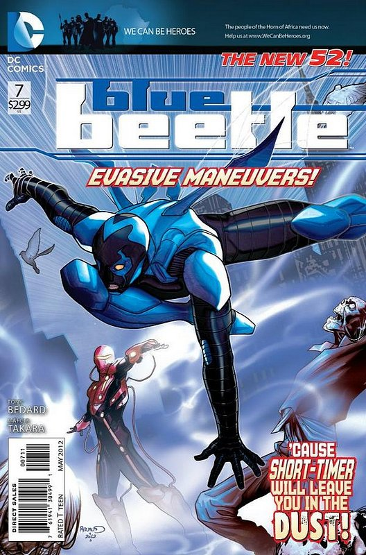 Cover of Blue Beetle (DC Vol 3) #7. One of 250,000 Vintage American Comics on sale from Krypton!