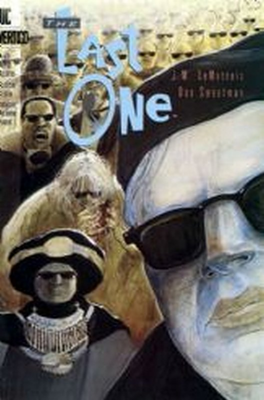 Cover of Last One (1993 Ltd) The #4. One of 250,000 Vintage American Comics on sale from Krypton!