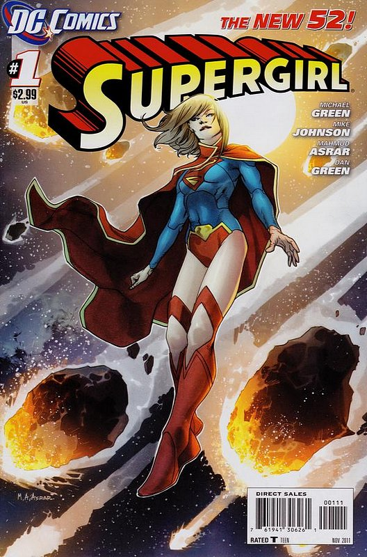 Cover of Supergirl (Vol 4) #1. One of 250,000 Vintage American Comics on sale from Krypton!