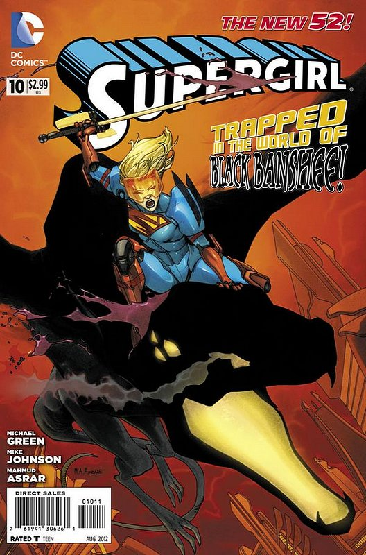 Cover of Supergirl (Vol 4) #10. One of 250,000 Vintage American Comics on sale from Krypton!