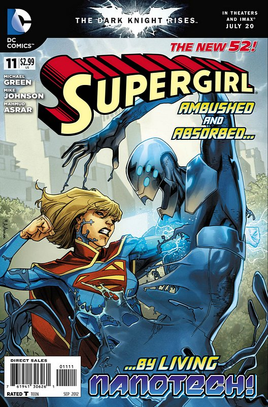 Cover of Supergirl (Vol 4) #11. One of 250,000 Vintage American Comics on sale from Krypton!
