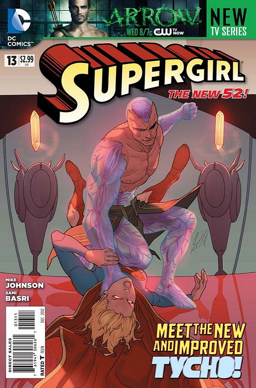 Cover of Supergirl (Vol 4) #13. One of 250,000 Vintage American Comics on sale from Krypton!