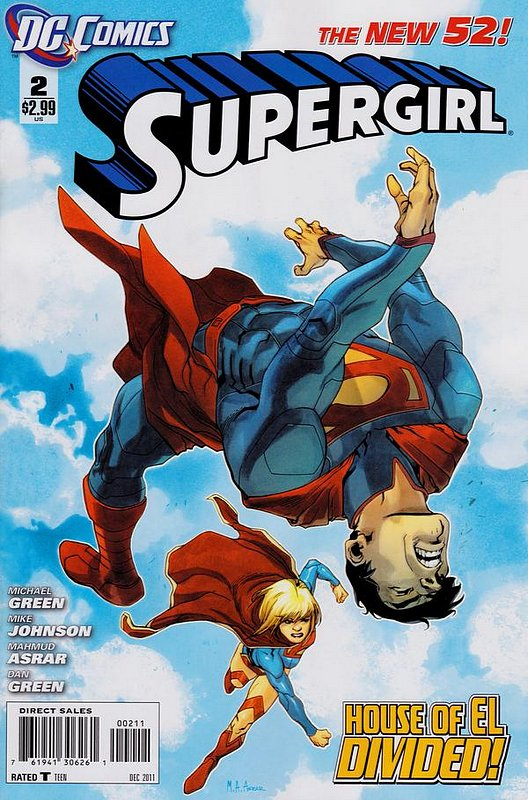 Cover of Supergirl (Vol 4) #2. One of 250,000 Vintage American Comics on sale from Krypton!