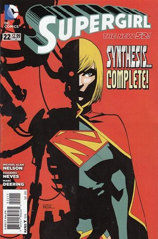 Cover of Supergirl (Vol 4) #22. One of 250,000 Vintage American Comics on sale from Krypton!