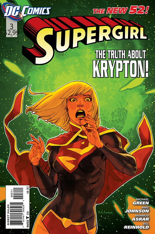 Cover of Supergirl (Vol 4) #3. One of 250,000 Vintage American Comics on sale from Krypton!