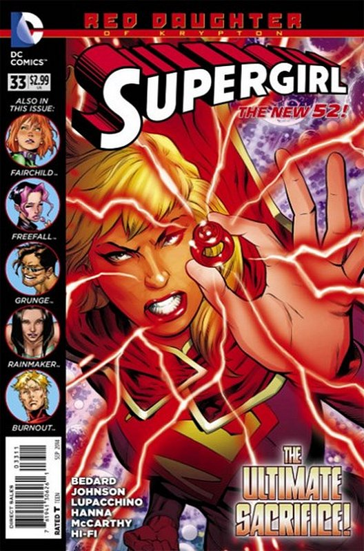 Cover of Supergirl (Vol 4) #33. One of 250,000 Vintage American Comics on sale from Krypton!