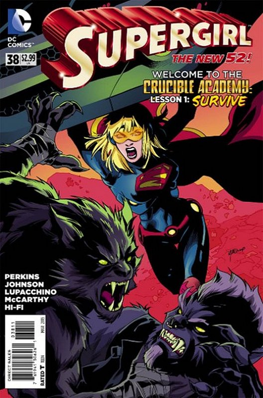Cover of Supergirl (Vol 4) #38. One of 250,000 Vintage American Comics on sale from Krypton!