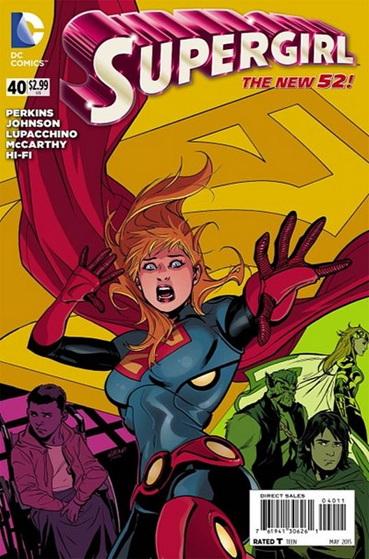 Cover of Supergirl (Vol 4) #40. One of 250,000 Vintage American Comics on sale from Krypton!