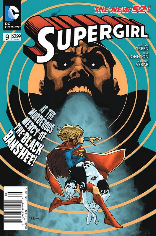 Cover of Supergirl (Vol 4) #9. One of 250,000 Vintage American Comics on sale from Krypton!