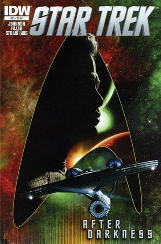 Cover of Star Trek (IDW Ongoing) #23. One of 250,000 Vintage American Comics on sale from Krypton!