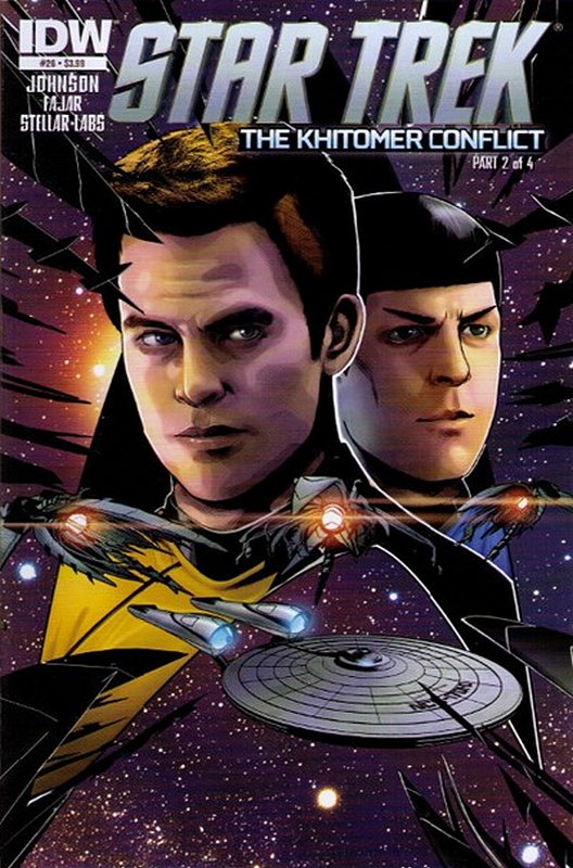 Cover of Star Trek (IDW Ongoing) #26. One of 250,000 Vintage American Comics on sale from Krypton!
