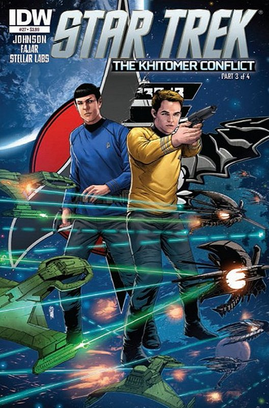Cover of Star Trek (IDW Ongoing) #27. One of 250,000 Vintage American Comics on sale from Krypton!