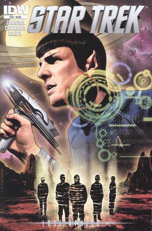 Cover of Star Trek (IDW Ongoing) #33. One of 250,000 Vintage American Comics on sale from Krypton!