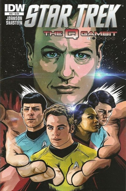 Cover of Star Trek (IDW Ongoing) #35. One of 250,000 Vintage American Comics on sale from Krypton!