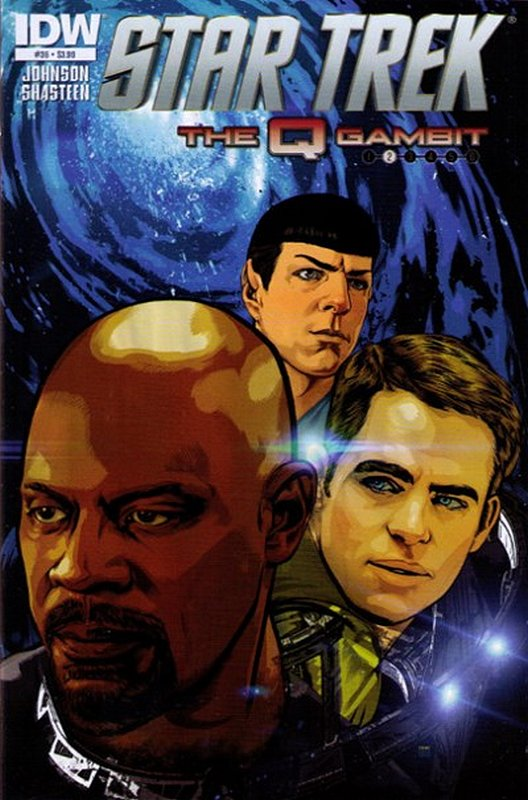 Cover of Star Trek (IDW Ongoing) #36. One of 250,000 Vintage American Comics on sale from Krypton!
