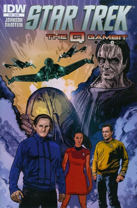 Cover of Star Trek (IDW Ongoing) #38. One of 250,000 Vintage American Comics on sale from Krypton!