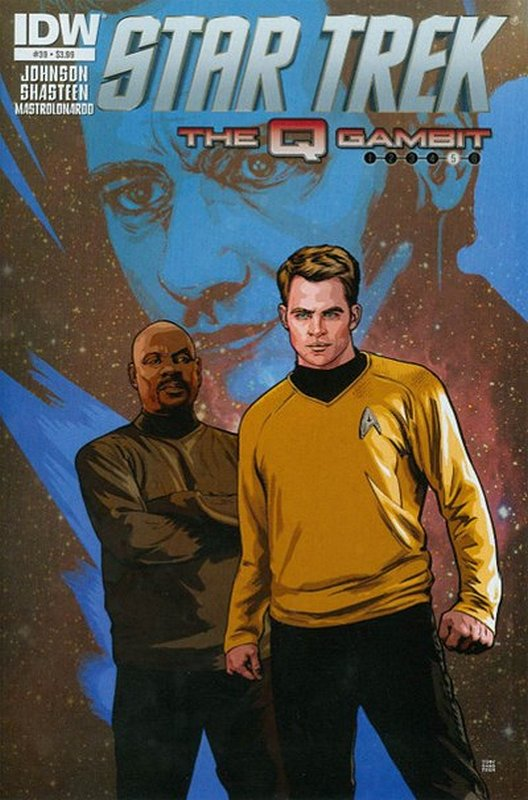 Cover of Star Trek (IDW Ongoing) #39. One of 250,000 Vintage American Comics on sale from Krypton!