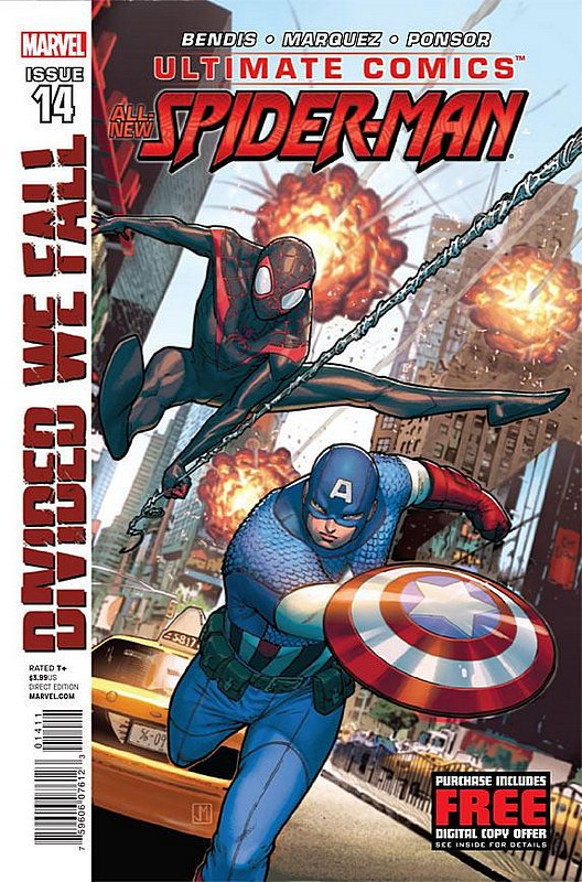 Cover of Ultimate Comics Spider-Man (Vol 2) #14. One of 250,000 Vintage American Comics on sale from Krypton!