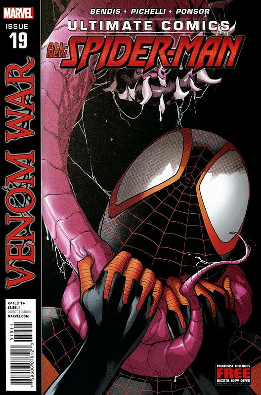 Cover of Ultimate Comics Spider-Man (Vol 2) #19. One of 250,000 Vintage American Comics on sale from Krypton!