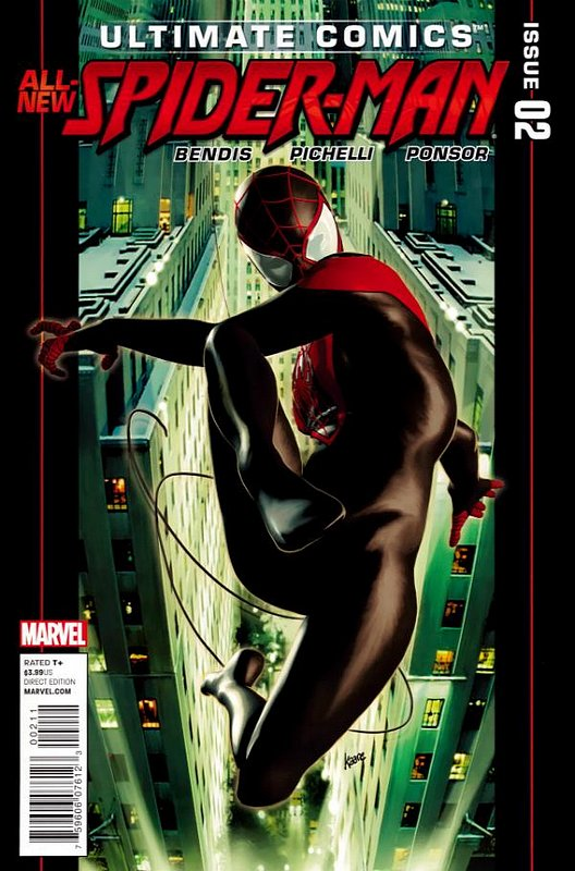 Cover of Ultimate Comics Spider-Man (Vol 2) #2. One of 250,000 Vintage American Comics on sale from Krypton!
