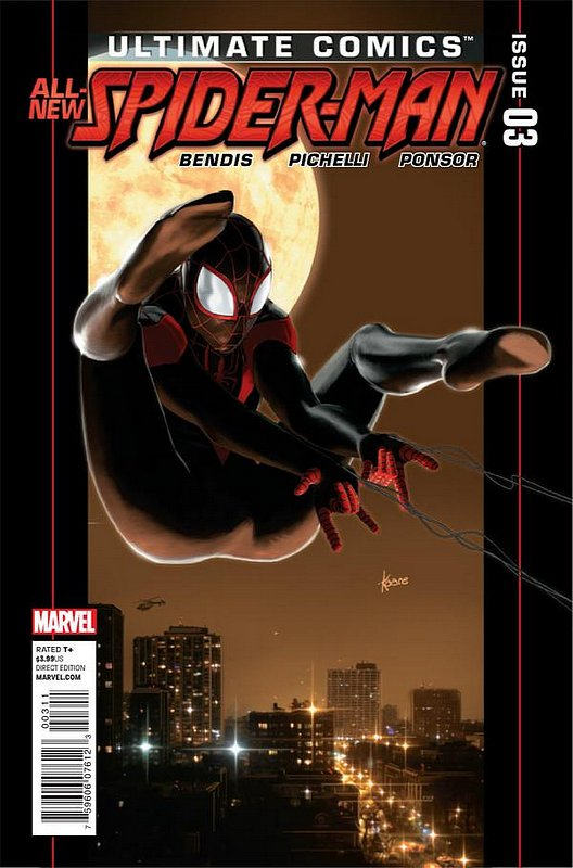 Cover of Ultimate Comics Spider-Man (Vol 2) #3. One of 250,000 Vintage American Comics on sale from Krypton!