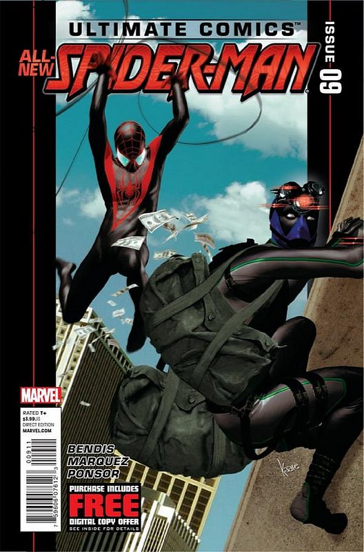 Cover of Ultimate Comics Spider-Man (Vol 2) #9. One of 250,000 Vintage American Comics on sale from Krypton!
