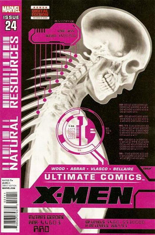 Cover of Ultimate Comics X-men (Vol 1) #24. One of 250,000 Vintage American Comics on sale from Krypton!