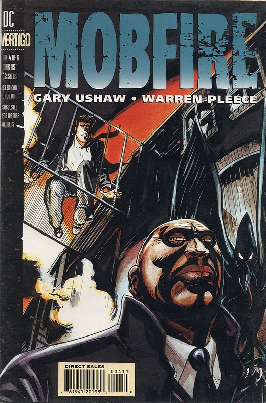 Cover of Mobfire (1994 Ltd) #4. One of 250,000 Vintage American Comics on sale from Krypton!