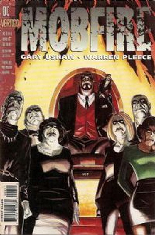 Cover of Mobfire (1994 Ltd) #6. One of 250,000 Vintage American Comics on sale from Krypton!