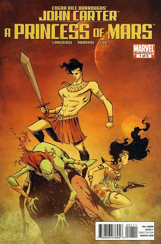 Cover of John Carter: A Princess of Mars #1. One of 250,000 Vintage American Comics on sale from Krypton!
