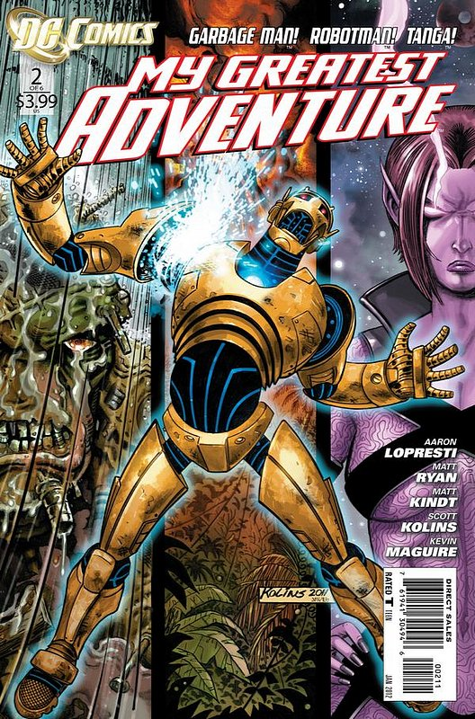 Cover of My Greatest Adventure (2011 Ltd) #2. One of 250,000 Vintage American Comics on sale from Krypton!