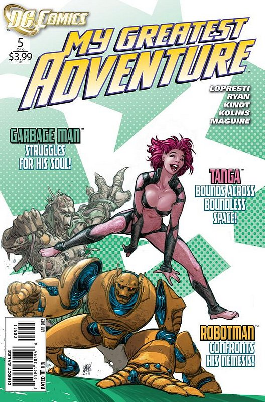 Cover of My Greatest Adventure (2011 Ltd) #5. One of 250,000 Vintage American Comics on sale from Krypton!