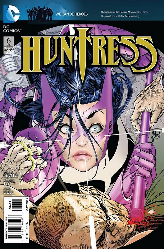 Cover of Huntress (2011 Ltd) #6. One of 250,000 Vintage American Comics on sale from Krypton!