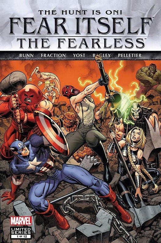 Cover of Fear Itself: Fearless (2011 Ltd) #1. One of 250,000 Vintage American Comics on sale from Krypton!