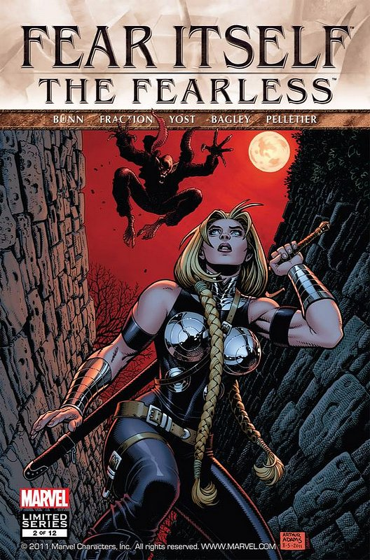 Cover of Fear Itself: Fearless (2011 Ltd) #2. One of 250,000 Vintage American Comics on sale from Krypton!
