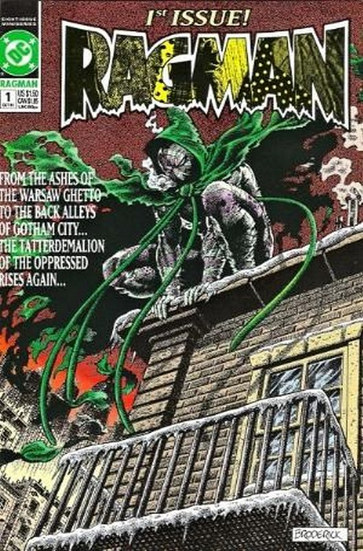 Cover of Ragman (1991 Ltd) #1. One of 250,000 Vintage American Comics on sale from Krypton!