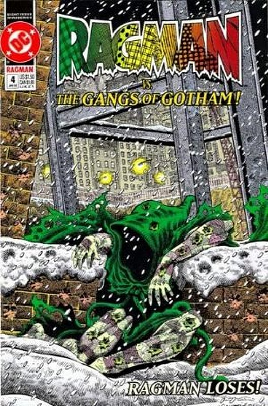 Cover of Ragman (1991 Ltd) #4. One of 250,000 Vintage American Comics on sale from Krypton!